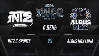 INTZ vs ANoX, game 1