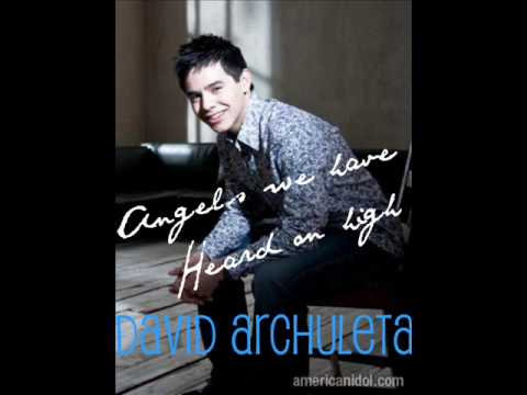 Angels We have Heard on high David Archuleta With Lyrics HQ [ Christmas from the heart ]