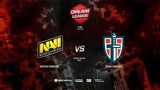 Team Espada vs Natus Vincere, DreamLeague Minor Qualifiers CIS, bo3, game 1 [NS & Maelstorm]