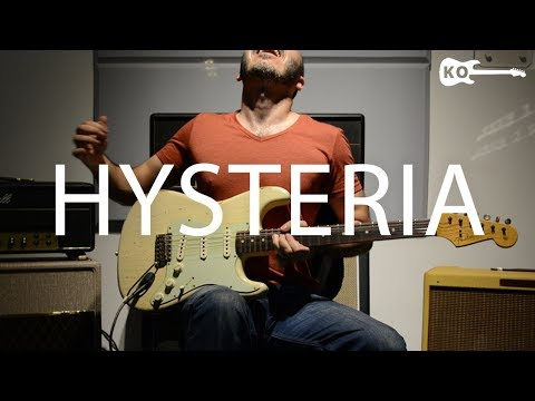 Download Video Muse - Hysteria - Electric Guitar Cover by Kfir Ochaion