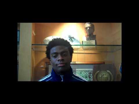 Jerick McKinnon Interview 7/8/2013 video.