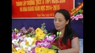 Le Khai Giang Truong THCS-THPT Ngoc Son