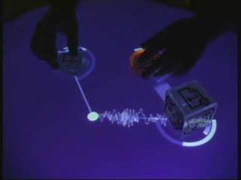 demo - More information about the Reactable instrument: http://www.reactable.com.