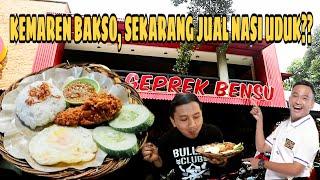 Video SETELAH BAKSO, BENSU JUAL NASI UDUK!! NASI UDUK GEPREK BENSU (BARU!) MP3, 3GP, MP4, WEBM, AVI, FLV April 2019