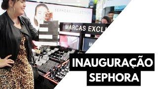 Mostrei tudo que rolou na inauguração da Sephora em BH! Mais informações abaixo: • Link do post com preços: https://goo.gl/auXSu2 e-mail: contato@cinderelade...