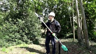 6. Bosch AMW 10 SG Multi Tool with Pole Pruner Attachment - DEMO