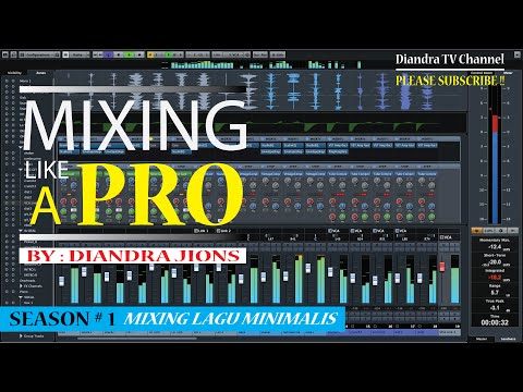 Mixing Tutorial In Cubase (Indonesian Language)