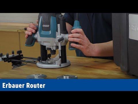 Erbauer ERB380ROU 2100W   Router 230-240V