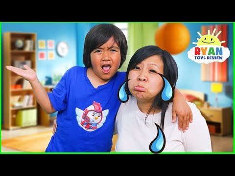 Why Do We Cry???  Educational Video for Kids with Ryan ToysReview