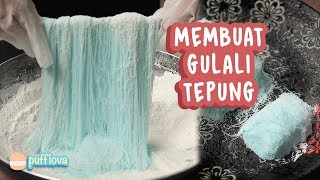 Download Video MEMBUAT GULALI TEPUNG | GULALI RAMBUT NENEK | GULALI BASAH | JAJANAN SD MP3 3GP MP4