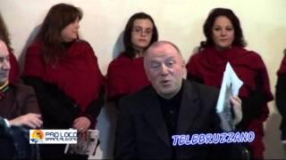 TELEBRUZZANO PRESENTAZIONE LIBRO UN POPOLO CANTA LA SUA FEDE
