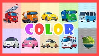Video Color Song - Learn colors with Tayo the Little Bus MP3, 3GP, MP4, WEBM, AVI, FLV Januari 2018