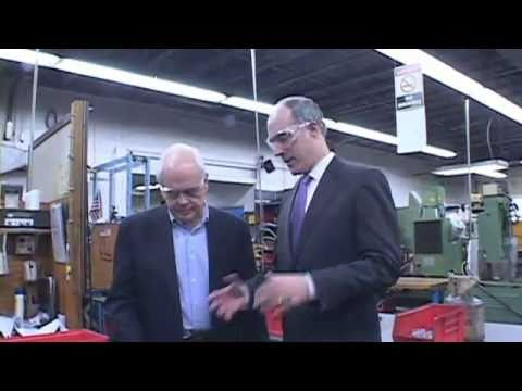 Senator Casey tours JATCO Machine & Tool Company in Bellevue