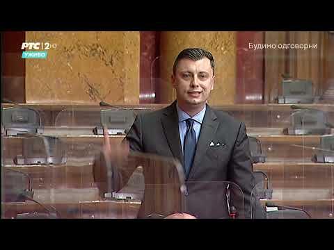 Postavljanje pitanja u Skupštini 27. 04. 2021. g. – Narodni poslanik SPP-a Samir Tandir