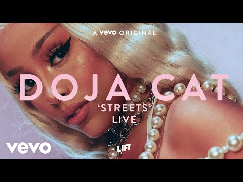Doja Cat - Streets (Live Performance) | Vevo LIFT