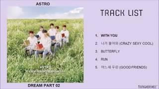 Download Lagu [FULL ALBUM] ASTRO (아스트로) - DREAM PART 2 Mp3