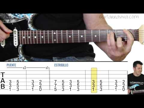 Smooth Criminal guitar cover con tabs guitar lesson como tocar guitarra