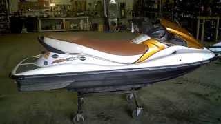 8. LOT 1673A 2005 Kawasaki STX-12F 12F Four Stroke Jet Ski