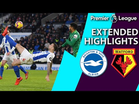 Video: Brighton v. Watford | PREMIER LEAGUE EXTENDED HIGHLIGHTS | 2/2/19 | NBC Sports