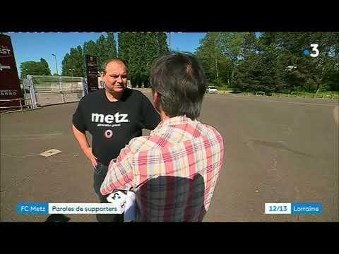 Descente du FC Metz en Ligue 2 : paroles de supporters