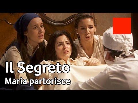il segreto - maria partorisce esperanza