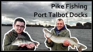 Pike Fishing - Port Talbot Docks. Carp, Coarse and Swansea Video 135