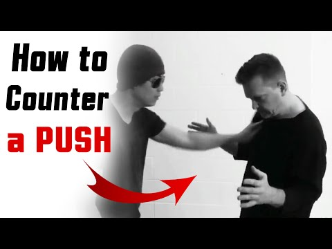 Best Street Fight Techniques - How to Counter a Push [SD1]
