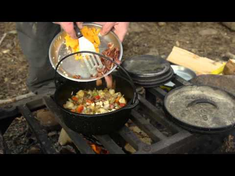 Dutch Oven Cooking: Classic Egg Bake