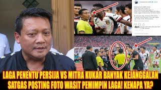 Download Video SATGAS Pasang Foto Wasit Laga Persija vs Mitra Kukar,Pertanda Apakah Ini? MP3 3GP MP4