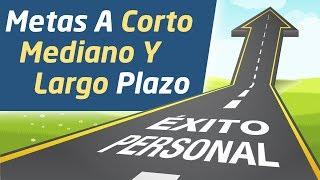 Video: Metas A Corto, Mediano Y Largo Plazo
