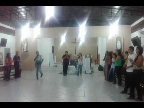 Grupo de Jovens Novo Caminho no dia 12 de fevereiro em Uruaçu.