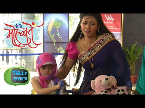 Ishita & Ruhi CAUGHT at the AIRPORT | Yeh Hai Mohabbatein | Star Plus