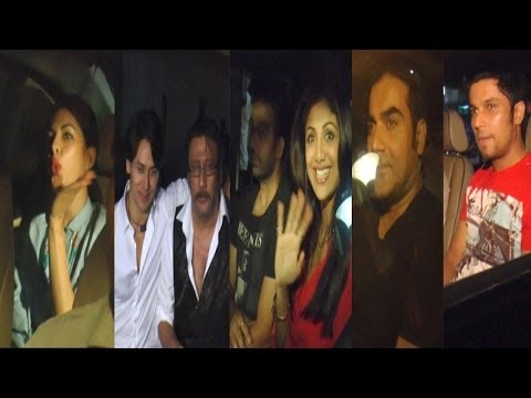 Jacquelin,Arbaaz,Shilpa,Randeep & Others At Special Screening Of Movie Heropanti