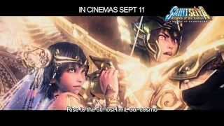 Nonton Saint Seiya  Legend Of Sanctuary   Official Movie Trailer  In Cinemas 11 Sept 2014  Film Subtitle Indonesia Streaming Movie Download