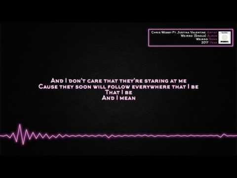 Chris Webby - Weirdo (Ft. Justina Valentine) [Lyrics]