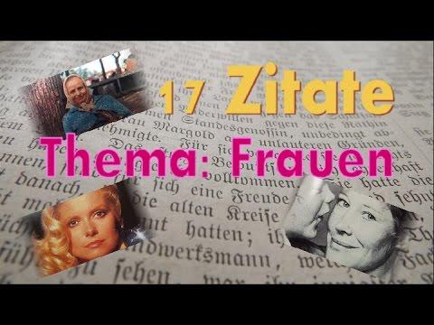 17 Zitate - alles über Frauen