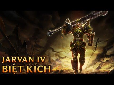 Jarvan IV Biệt Kích - Commando Jarvan IV