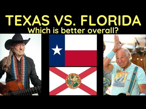 Texas Vs. Florida - Which Is Better Overall?