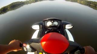 6. seadoo wake 215 POV top speed  GoPro