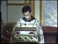 Benediction and Devotions - John 4 v27, 31-34 - Fr. Miguel Marie - 09-05-2010