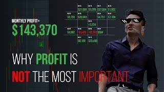 Why trading pattern is more important than chasing profit