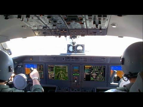 Антонов продемонстрировал видео испытательного полета Ан-132D