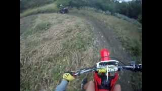 5. Honda CRF 230F trail riding
