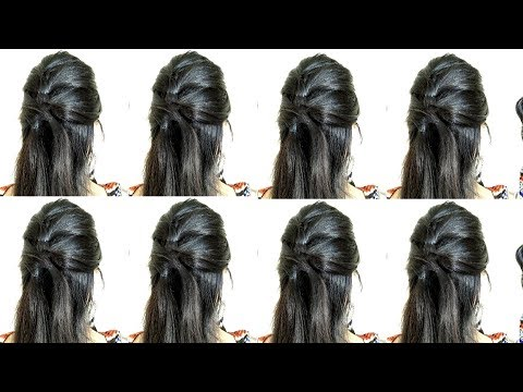 Easy Hairstyles for long hair and medium hair  4 Easy & cute Hairstyles  DIY Hairstyles