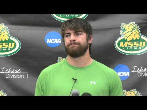 Landon Zerkel Press Conference Week 7