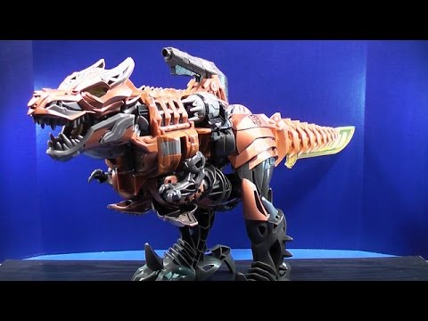 Chomp - Hey everyone...here is my video review of the new Stomp & Chomp Grimlock from the movie Transformers 4 Age of Extinction! Let me know what you think! Thumbs ...