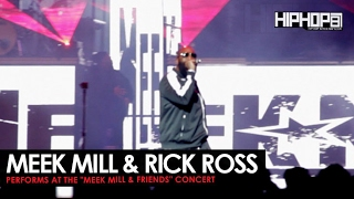 "Meek Mill Performs ""Ima Boss"" with Rick Ross at His Meek Mill and Friends Concert"
