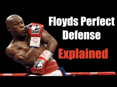 Floyd Mayweather's Perfect Defense Explained - Technique Breakdown (видео)