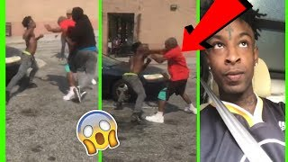 Help me make this channel better anything helps!  : https://www.paypal.me/WasayHThanks for watching subscribe for more videos!Follow me on twitter: https://twitter.com/BluntedMusicYT21 Savage MAKES HIS FRIENDS BEAT UP a crack head OUTSIDE A STORE!!!