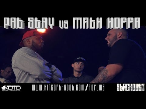 KOTD, Rap Battle: Pat Stay vs Math Hoffa (2013)